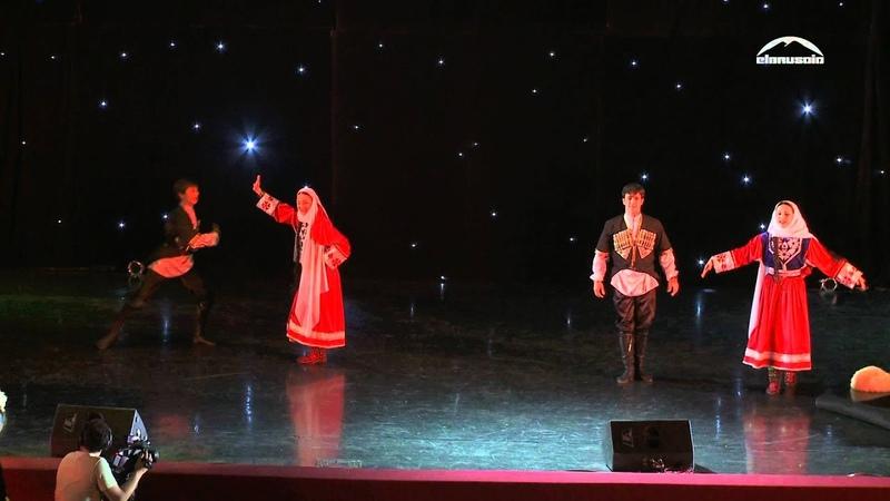 Ансамбль РАССВЕТ - Андийский танец в бурках
