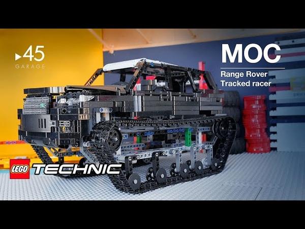 MOC Range Rover Tank Tracked racer LEGO Technic
