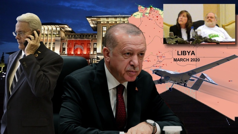 Senator Dick Black Renounces Turkish Aggression in North Africa The Middle East with the Moriartys