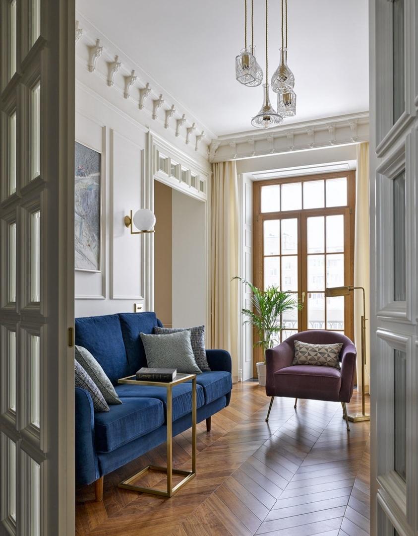 Квартира в подарок на Плющихе, 53 м²