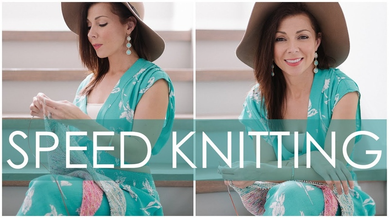 How To Knit Faster?!?! Speed Knitting for Beginners (Continental Style)