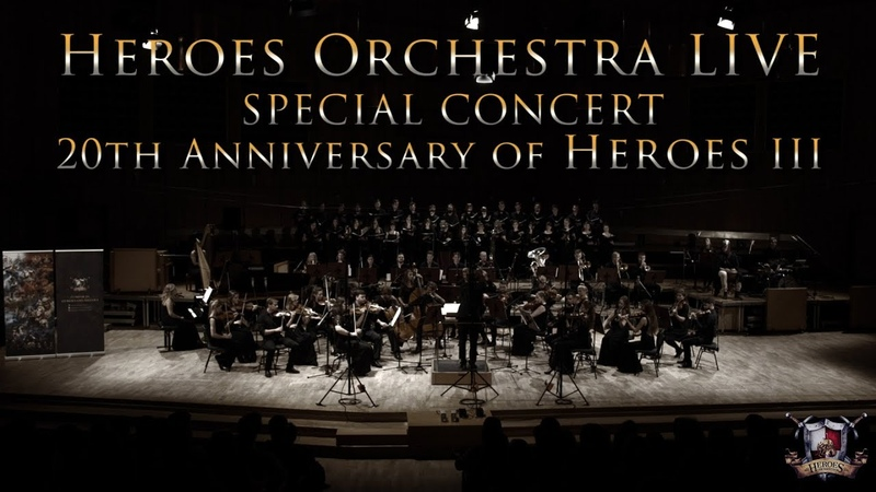 Heroes Orchestra LIVE CONCERT - 20th anniversary of Heroes III (part 2/2)