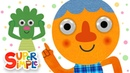 Head Shoulders Knees And Toes (2019)   Noodle Pals   Super Simple Songs