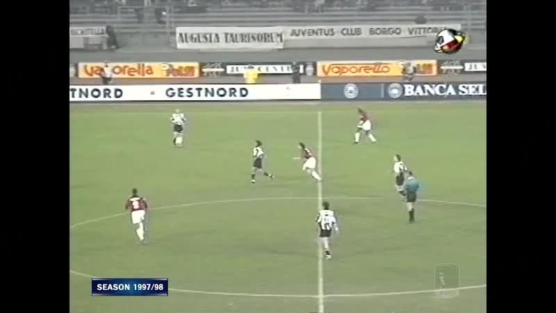 Серия A 1997-98. 27 тур. Ювентус - Милан