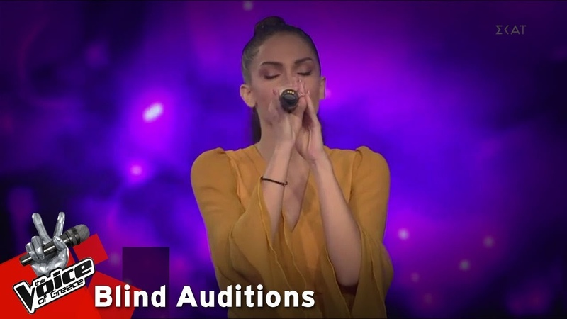 Ειρήνη Αδαμοπούλου Breathing 12o Blind Audition The Voice of Greece