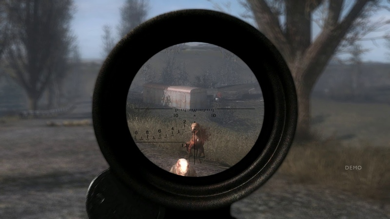 Fake scope lenses loot animations