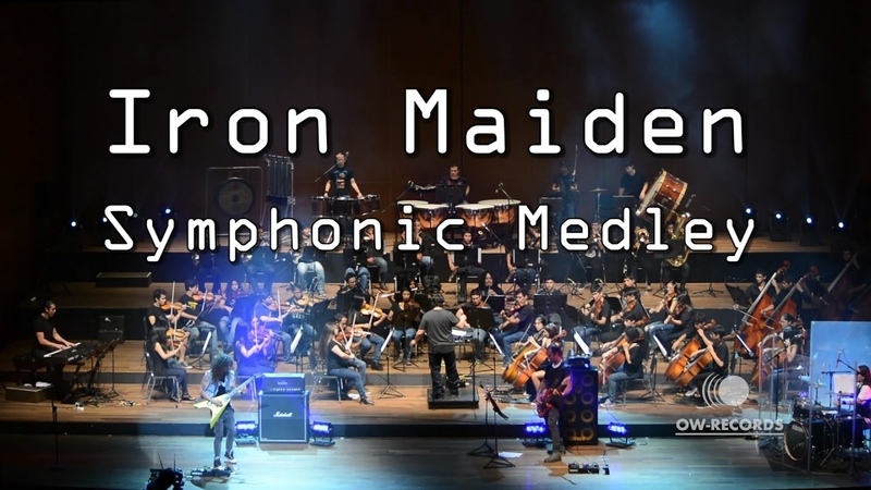 Iron Maiden Fear of The Dark The Number of The Beast Run to The Hills Charlie Para del Riego Epic Symphonic Medley 2016