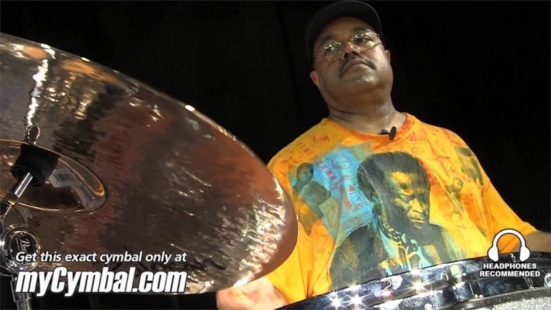 Zildjian 20 K Custom Ride Brilliant Cymbal - Played by Dennis Chambers (K20889-1081913V)