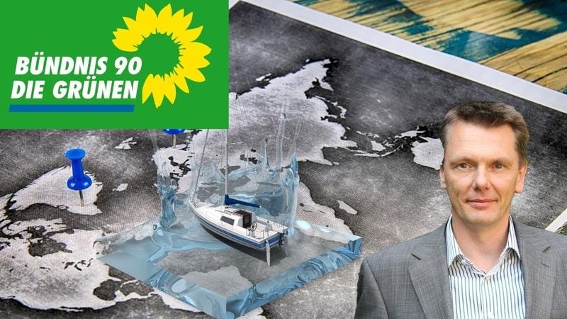 Grüner Landtagsabgeordneter nimmt in Teilen bezahlte Auszeit um die Welt zu umsegeln Grüne