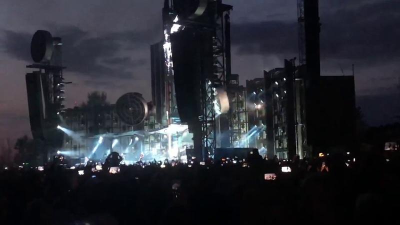 Rammstein - Du hast live in Riga