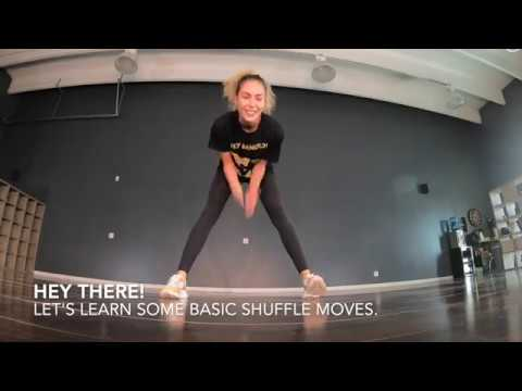 @ana_kirilik - Shuffle tutorial No1. Running Man, variations, 3 moonwalks, slides