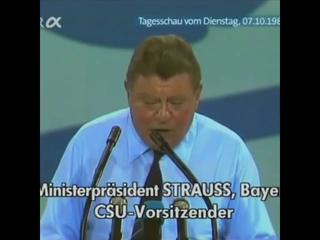 Das war ein Politiker Franz Josef Strauß
