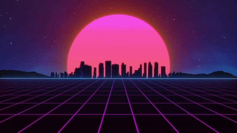 Neon Red Instrumental Remix Synthwave Cyberpunk music Miracle Of Sound