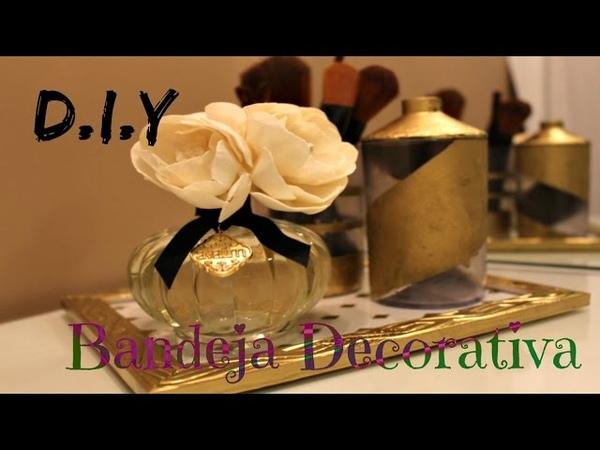 DIY - Bandeja de Porta Retrato e Dica de Difusor Maraaa