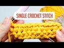 HOW TO SINGLE CROCHET STITCH HƯỚNG DẪN MÓC MŨI ĐƠN Móc len đơn giản NoLi Handmade
