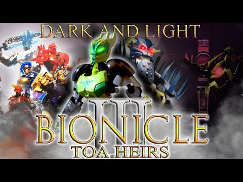 BIONICLE TOA HEIRS III Тьма и свет LEGO BIONICLE ФИЛЬМ 2019