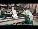 Honzhan HZ-1530 automatic woodworking lathe with auto feeding, round chair leg cnc machine φ30cm