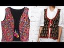 Ladies jacket for suit and kurta cutting and stiching pwith underground piping
