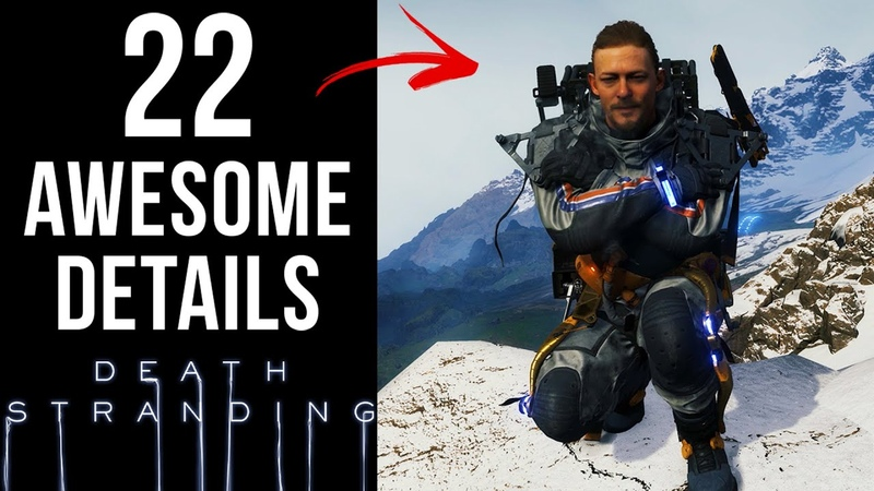 22 AWESOME Details in Death Stranding
