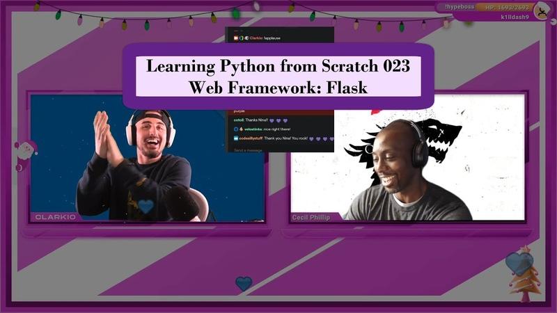 🐍💻 Web Framework Flask Learning Python from Scratch 023
