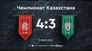 Кайрат 43 Атырау Плей-офф Чемпионата Казахстана 20/21 11.05.21 Игра престолов