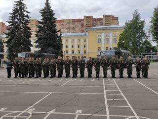 дзержинский полк в балашихе фото с присяги связано