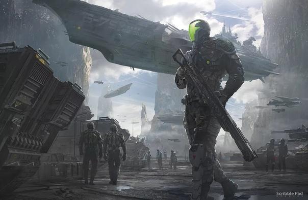sci fi art - HD1280×835