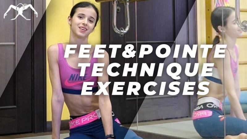 Maria Khoreva Ballet under quarantine Feet and pointe technique exercises Vaganova method