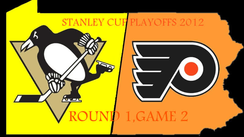 Stanley Cup Playoffs 2012 R1 Game 2 Philadelphia Flyers Pittsburgh Penguins