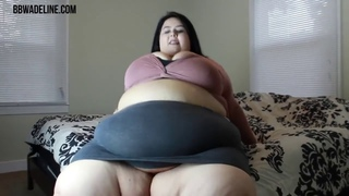 Ssbbw Adeline Belly wobble