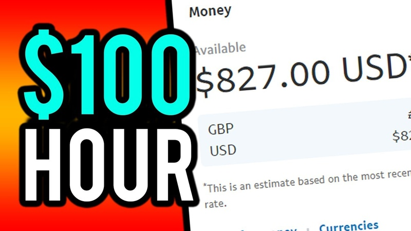 Earn $100 Per Hour Online For FREE! (Step By Step) - Make Money Online 2019