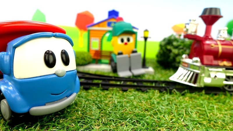 Spielzeug Video auf Deutsch Leo und Lifty spielen zusammen Spaß mit Leo dem Lastwagen