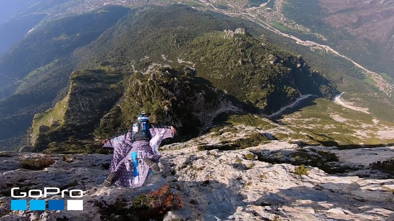 GoPro Wingsuit Through the Italian Dolomites