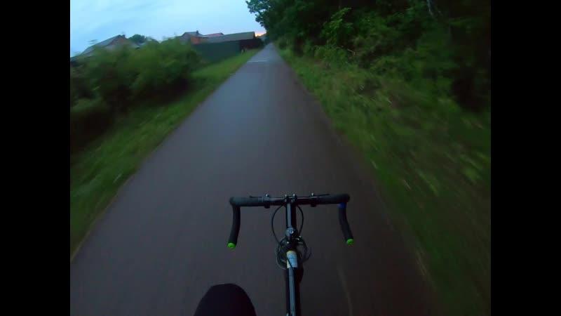 Вечерняя велотропа
