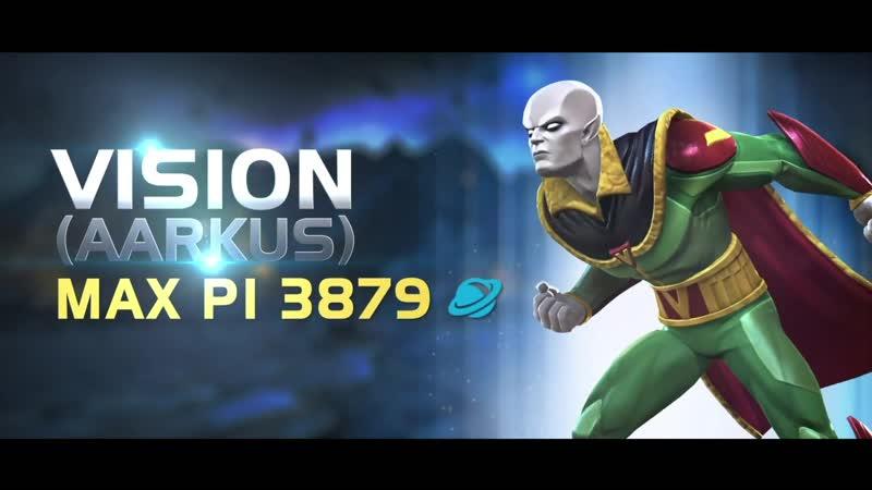 Vision Aarkus Вижн Ааркус Marvel Contest of Champions