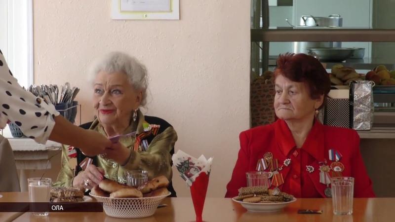 Воспитанники Ольского детского дома встретились с ветеранами