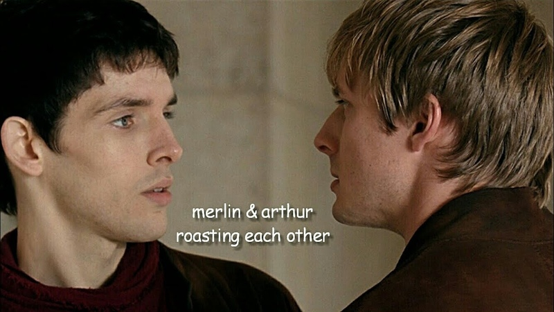 Merlin arthur roasting each other for 9 minutes straight