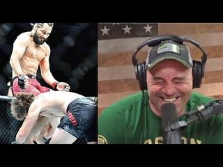 РЕАКЦИЯ ДЖО РОГАНА НА СТРАШНЫЙ НОКАУТ В БОЮ МАСВИДАЛ АСКРЕН UFC 239