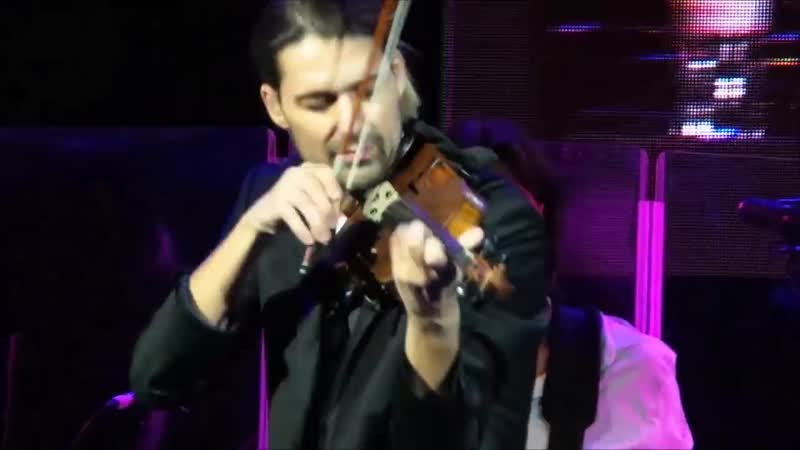David Garrett Moscow 12.12.2016 They dont care about us