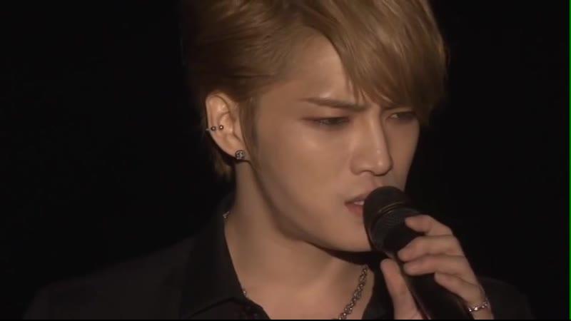 [DVD cut] Kim jaejoong - 14.化粧 (Kesho) _2013 1st Album Asia Tour Concert in Japan_