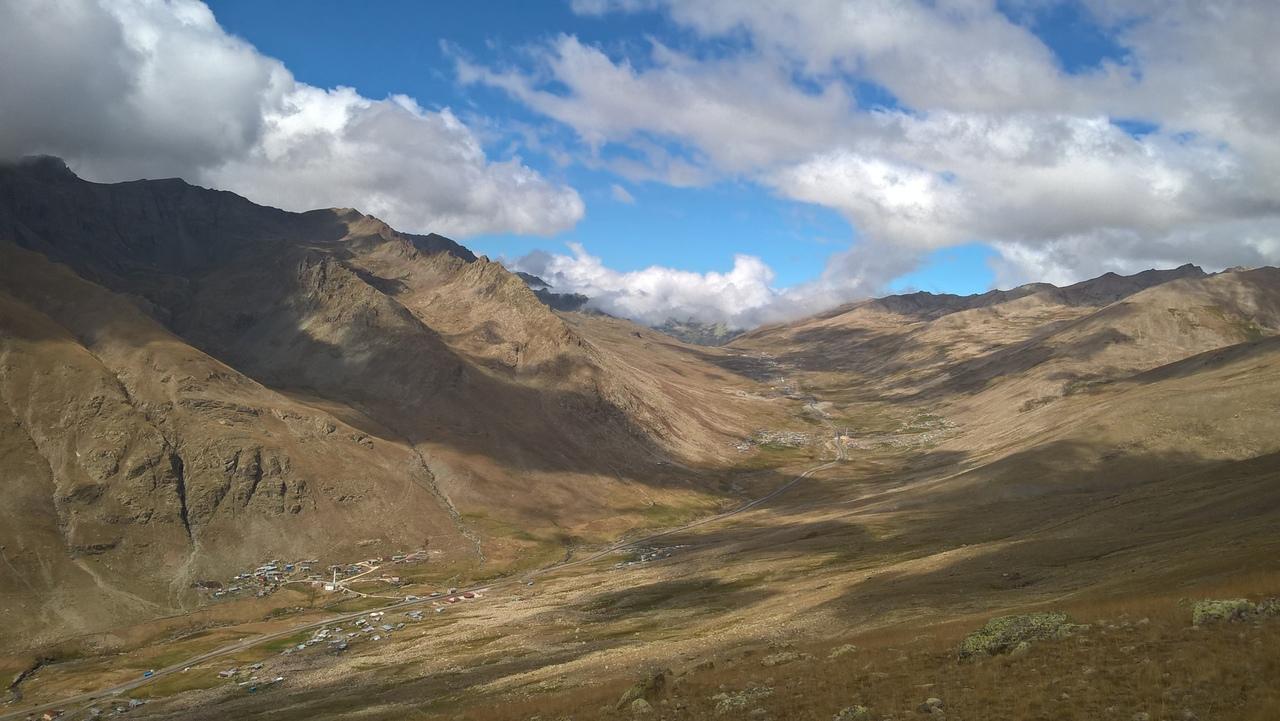 горы Качкар с перевала Овит