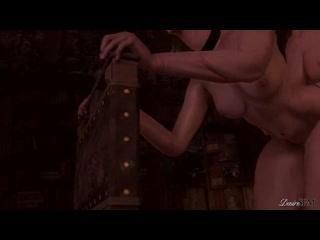 SACRIFICE - CORRUPTION OF THE LODGE 3 - THE WITCHER FUTANARI X CIRI