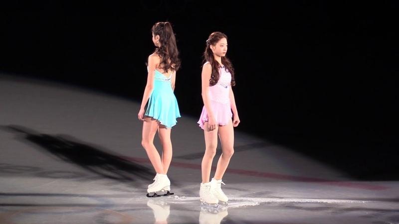 2018 Olympics Gala Young You Eunsoo Lim EX (Fancam)