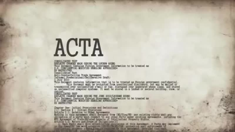 Anonymous Was ist ACTA StopACTA german sync