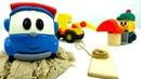 Video con protagoniste le macchinine Il camioncino Leo ed i suoi amici