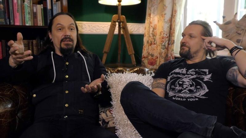 Amorphis interview - Esa Holopainen and Tomi Joutsen (part 1)