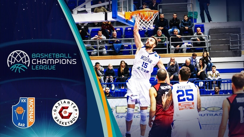Mornar Bar v Gaziantep - Highlights - Basketball Champions League 2019-20