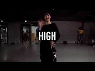 1million dance studio leebada - high ft. penomeco ⁄ bengal choreography