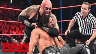 [WBSOFG] Seth Rollins & Braun Strowman vs. Gallows & Anderson: Raw, Sept. 2, 2019