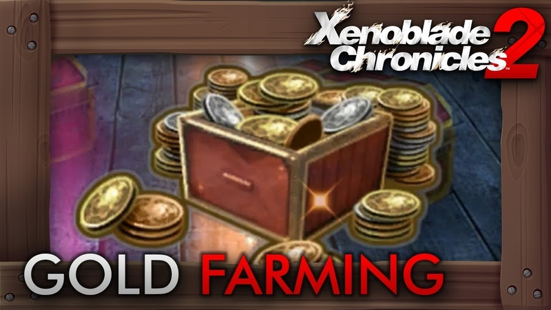 Xenoblade Chronicles 2 Farming Money Very Fast 200k in 10 Minutes